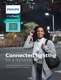 Brochure om CityTouch connect-appen