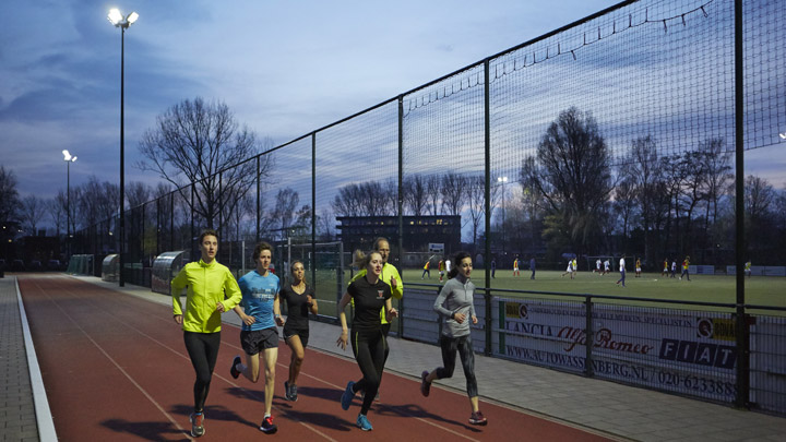 OptiVision LED-projektører – sportsbaner