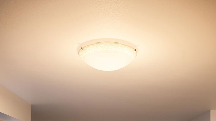 Loftmonteret lamper med Philips LED