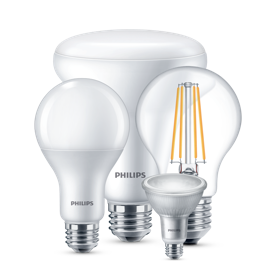 Philips LED pærer produktkollektion